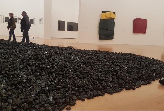 forme charbon bernar venet mac mme orcaz